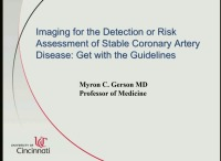Imaging for the Detection or Risk Assessment of Stable Coronary Artery Disease: Get with the Guidelines